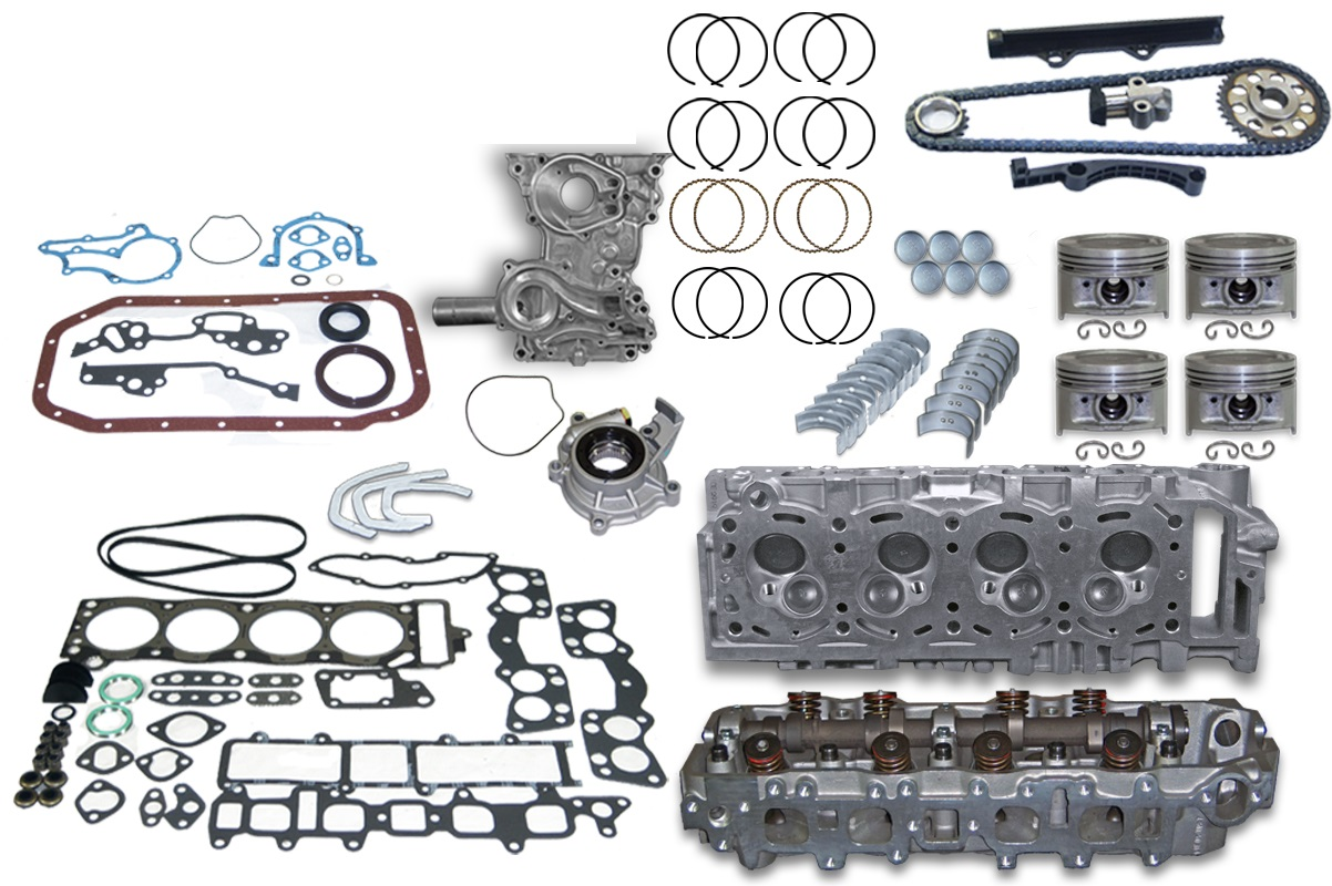toyota 22r 22re 22rec 85 95 truck engine kit w cylinder head rh titanengines com Toyota 4Runner Engine Schematic Toyota Truck Parts Diagram
