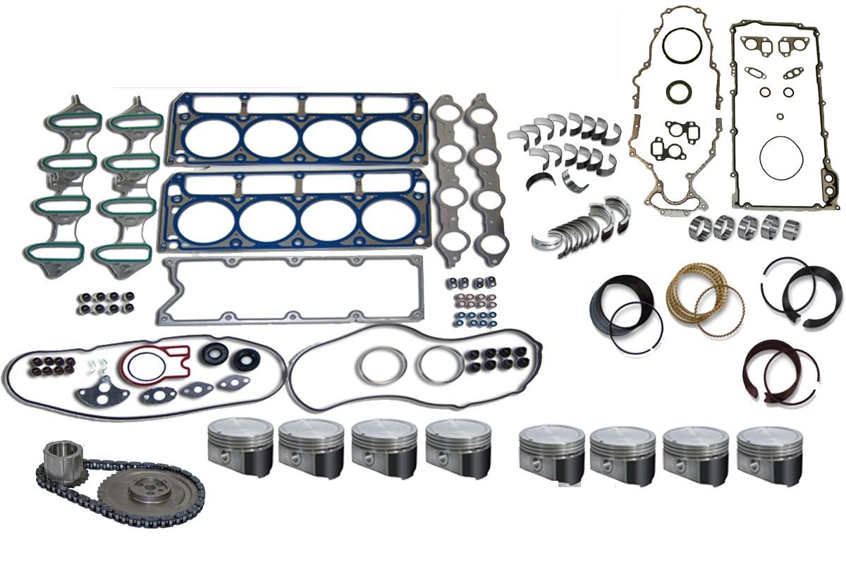 CHEVY 325 5.3 2003 Truck Engine Rebuild Kit Trailblazer | eBay