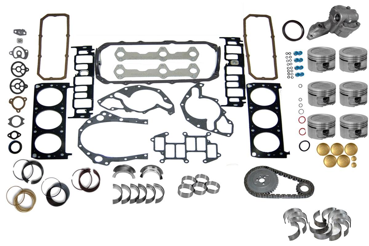 Chevy 207 3.4 93-95 Car Engine Rebuild Kit   eBay