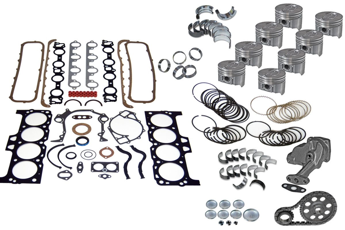 Ford F250 460 75 Truck Engine Rebuild Kit 79 85 Ebay Timing A Categories